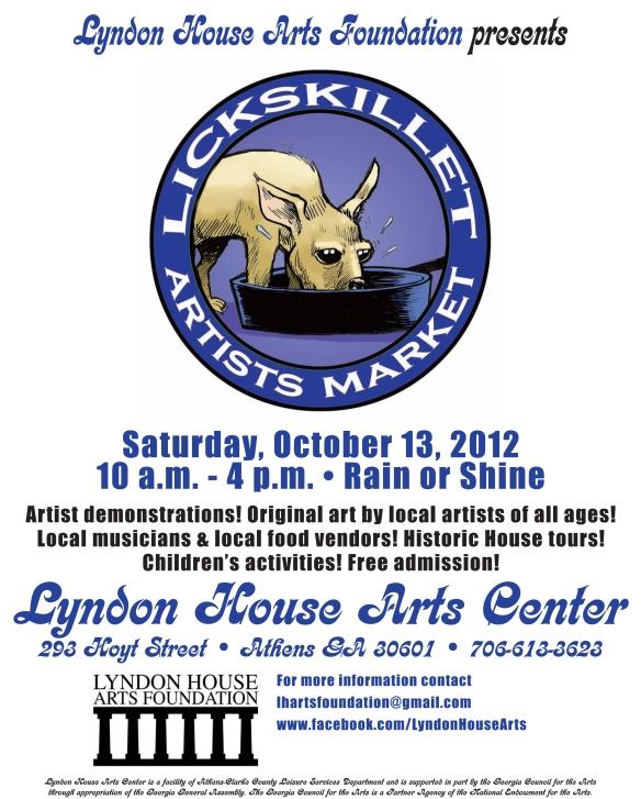 Lickskillet Market 2012 Flier